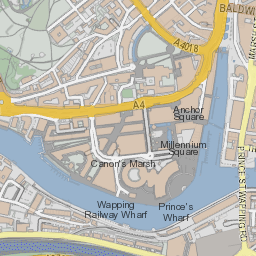 Map of Bristol city centre bristolgovuk