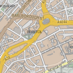 Bristol City Centre Map Map of Bristol city centre   bristol.gov.uk