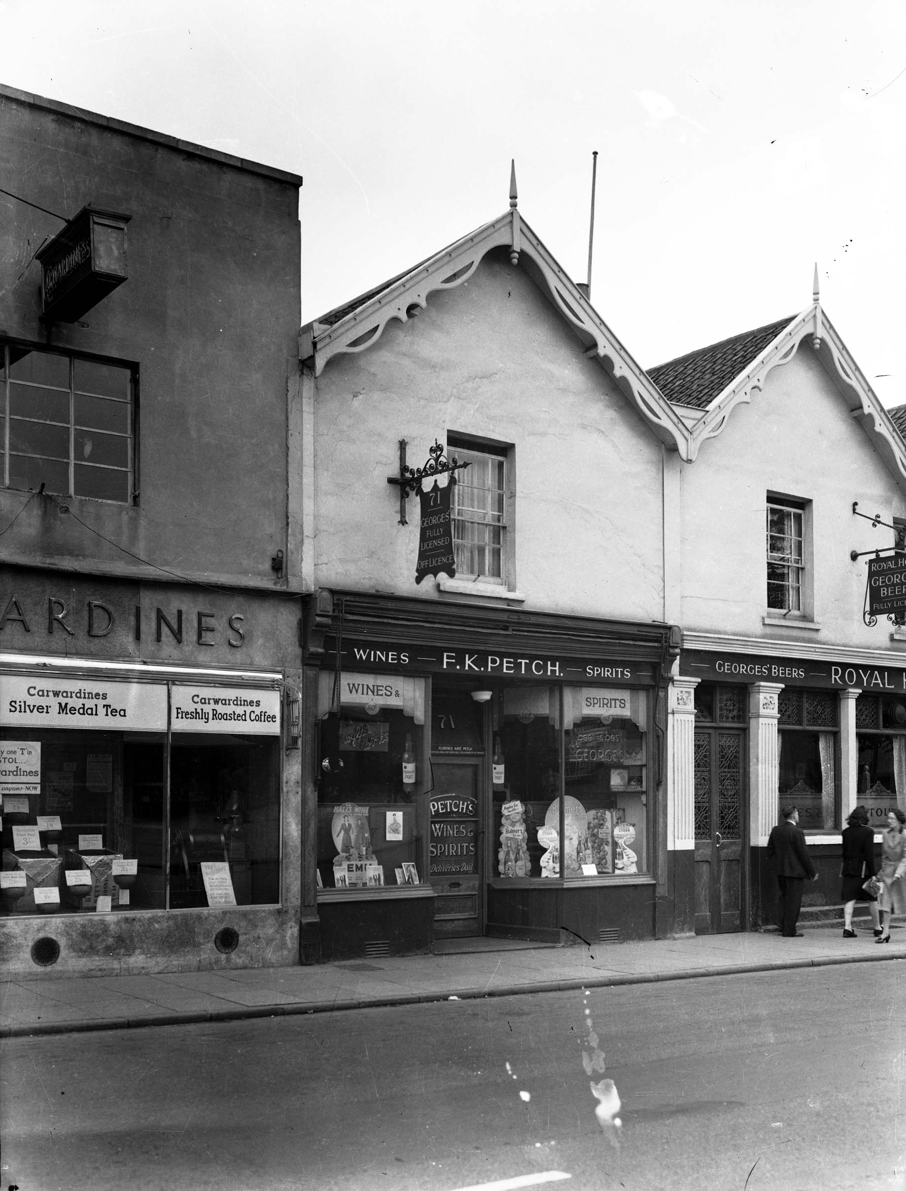 71, Gloucester Road dated 1952 from KnowYourPlace