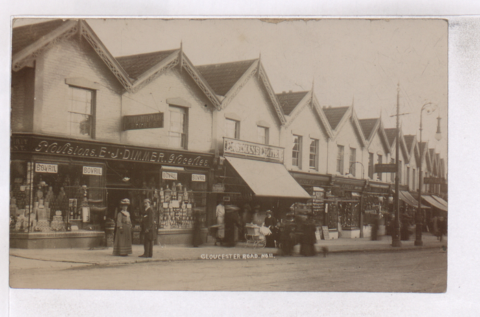 195, Gloucester Road dated 1910 from Bristol Records Office